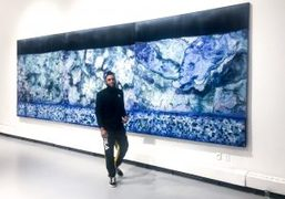 """Vaughn Spann exhibits at """"WILD SEED Yale Painting MFA Thesis Show Group..."""