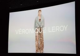 Veronique Leroy F/W 2018 presentation at Cinéma Le Balzac, Paris