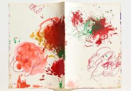 "Cy Twombly ""In Beauty it is finished Drawings 1951-2008"" exhibition at Gagosian,..."