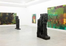 Per Kirkeby exhibition at Almine Rech Gallery, Paris