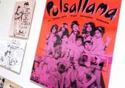 """""""Club 57: Film, Performance, and Art in the East Village, 1978–1983"""" exhibition..."""