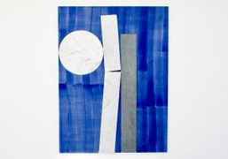 """Sam Moyer """"Many Moons"""" exhibition at Galerie Rodolphe Janssen, Brussels"""