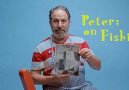 """Purple presents """"Peter: on Fishing"""", a short documentary on Peter Shire by..."""