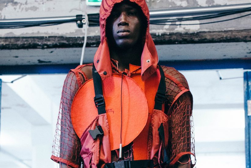 A-Cold-Wall* Men's S/S 2019 backstage at The Old Truman Brewery, London