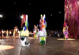 "Nick Cave ""The Let Go"" installation-performance at Park Avenue Armory, New York"
