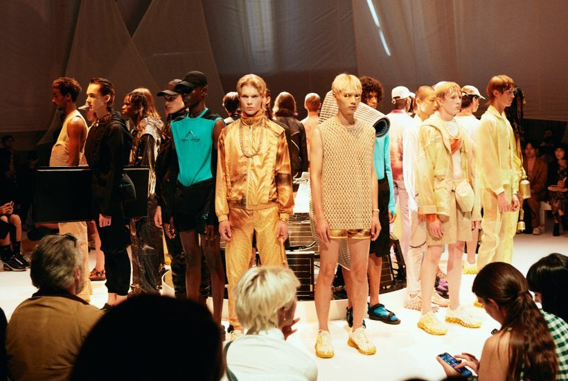 Cottweiler Men's S/S 2019 backstage at Rambert, London