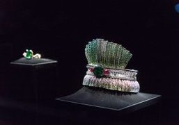 "Dior Haute Joaillerie collection ""Dior Dior Dior"" at Musee d'Art Moderne de..."