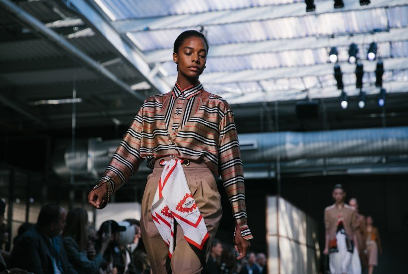Riccardo Tisci's debut collection for Burberry S/S 2019, London