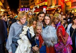 Purple Exclusive: Gucci's S/S 2019 show at Le Palace documented by Martin...