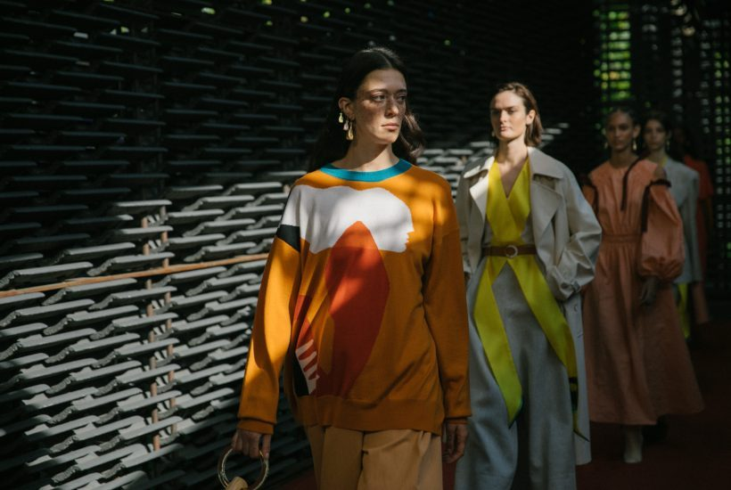Roksanda S/S 2019 show at Serpentine Gallery Pavilion, London