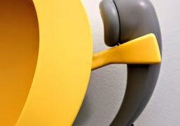 Camille Henrot's telephone sculptures at Frieze Live 2018, London