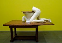 "Sarah Lucas ""Au Naturel"" at New Museum, New York"