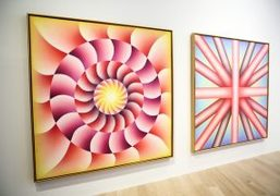 """Judy Chicago. A Reckoning."" at Art Basel Miami Beach, 2018"
