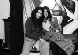 Yasmine Eslami x Bella Freud collaboration celebratory cocktail, paris