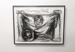 """Rene Ricard's """"But You Love me…You Said So"""" exhibition at Half Gallery,..."""