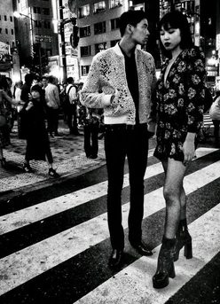 saint laurent by daido moriyama