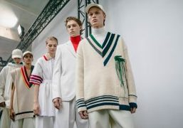 Lacoste F/W 2019 backstage at Tennis Club de Paris, Paris