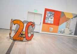 """Rauschenberg: The 1/4 Mile"" Exhibition at LACMA, Los Angeles"
