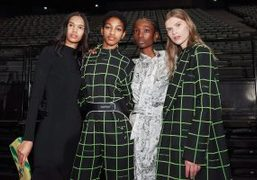 Off-White F/W 2019 backstage at Accor Hotels Arena, Paris