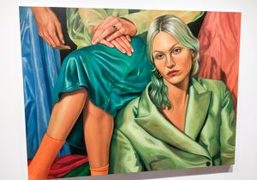 """Chloe Wise's """"Not That We Don't"""" Exhibition at Almine Rech, London"""