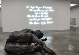 """Tracey Emin's """"A Fortnight of Tears"""" Exhibition at White Cube Bermondsey, London"""
