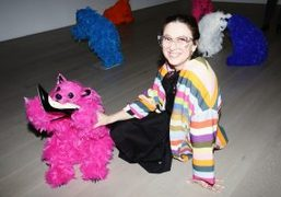 """Paola Pivi's """"We Are The Baby Gang"""" Exhibition Opening at Perrotin, New..."""