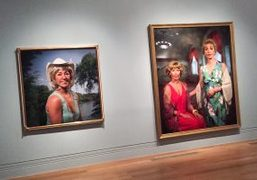 Cindy Sherman's Exhibition at The National Portrait Gallery, London
