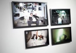 """Davide Sorrenti """"Our Beutyfull Future"""" Photography Exhibition at Camera Club Projects, New..."""