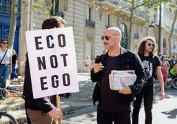 "G.A.F's ""Rave for Climate"" at the Place Edmond Rostand, Paris"