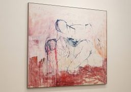 """Tracey Emin's """"Leaving"""" Exhibition at Lorcan O'Neill, Rome"""