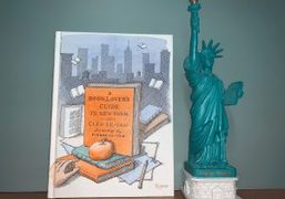 "Cleo Le-Tan's New Book ""A Booklover's Guide to New York"" with Illustrations..."