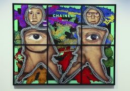 """Gilbert and George's """"The Paradisical Pictures"""" at the Sprüth Magers, Los Angeles"""
