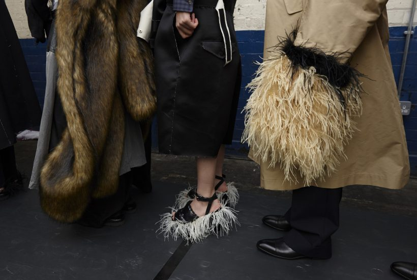 TOGA F/W 2020 Backstage at The Truman Brewery, London