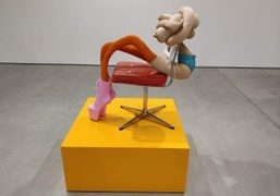 "Sarah Lucas ""Honey Pie"" Exhibition at Sadie Coles HQ, London"