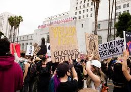 Purple NEWS: BLACK LIVES MATTER PROTEST, In solidarity with the protestors in...