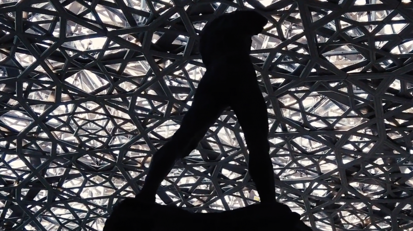 Purple PREMIERE: WE ARE NOT ALONE by SOUNDWALK COLLECTIVE for the Louvre Abu Dhabi Museum