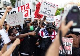 Purple NEWS: BLACK LIVES MATTER PROTESTS, In solidarity with protestors in Lisbon,...