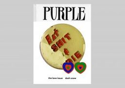 Purple #34 the LOVE issue Out Worldwide Monday October 5th