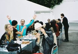 Purple LOVE Luncheon with Dover Street Market, Los Angeles, Shot by Olivier...