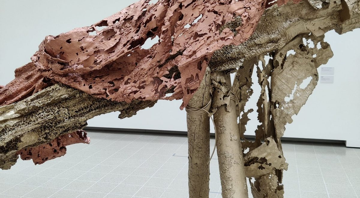 """""""Redoubt,"""" an exhibition by Matthew Barney at Hayward Gallery, London"""