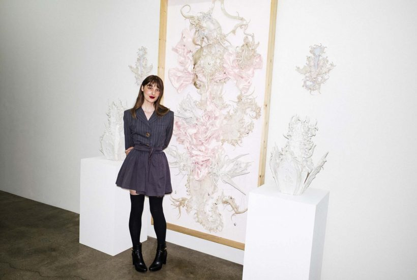 """""""The Pearl Eater,"""" an Exhibition by Evangeline AdaLioryn at Hunter Shaw Fine Art, Los Angeles"""