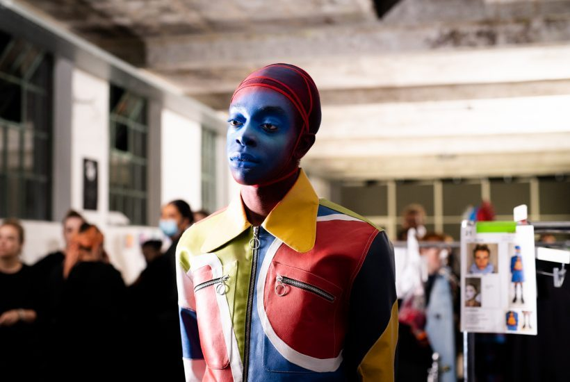 Charles Jeffrey S/S 2022 Backstage at Electrowerkz, London