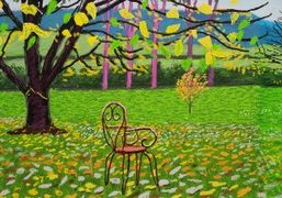 """""""A Year in Normandie,"""" an exhibition by David Hockney at Musée de..."""